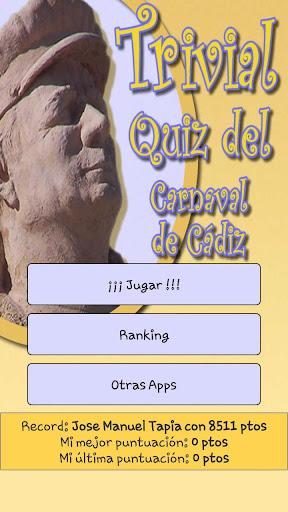 Trivial Quiz Carnaval de Cádiz