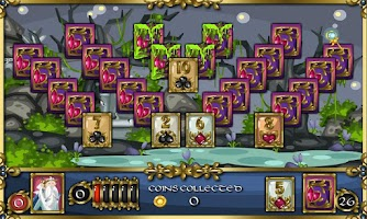Screenshot of Solitaire Adventure