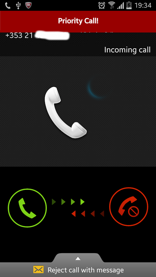 Priority Call- screenshot