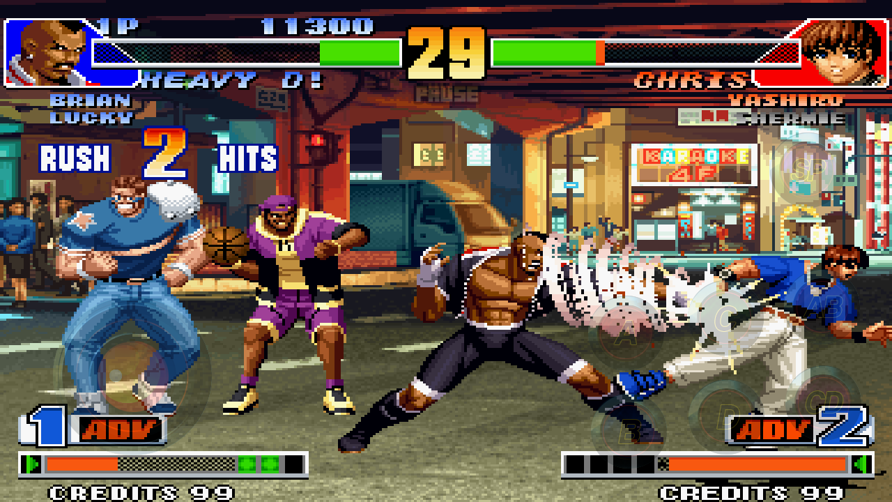 king of fighters 1