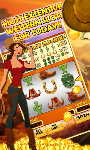 A Wild West Vegas Casino Slots