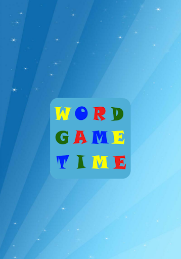 Word Game Time