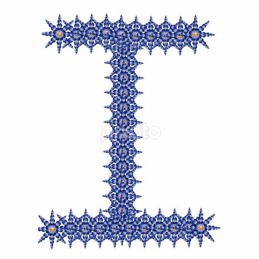 Alphabet I Single Letters Typography Pixoto