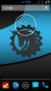 4.2 Clock Widget (w/ seconds) - screenshot thumbnail