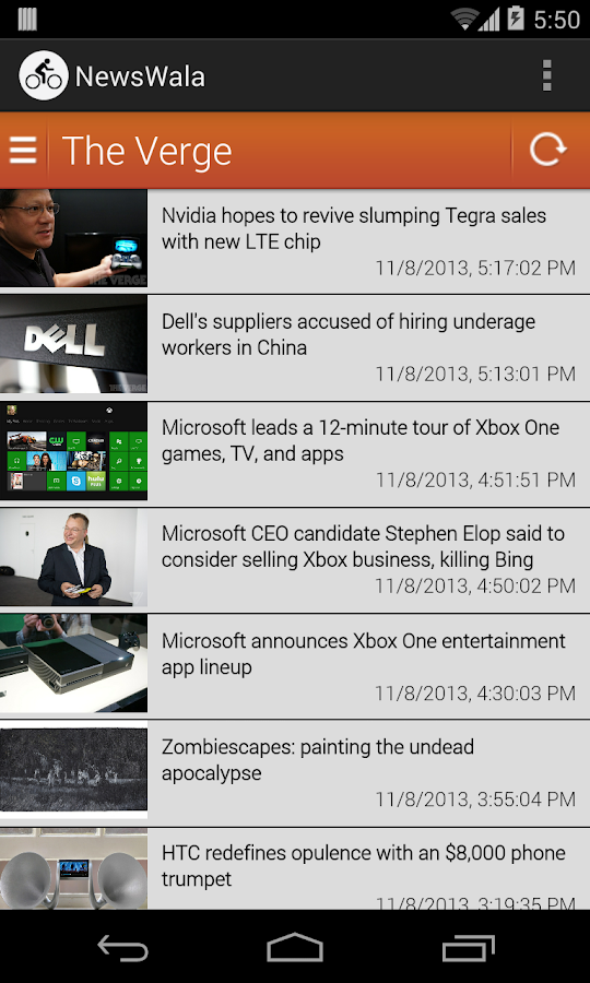 NewsWala- screenshot