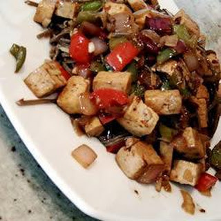Sweet and Spicy Tofu.