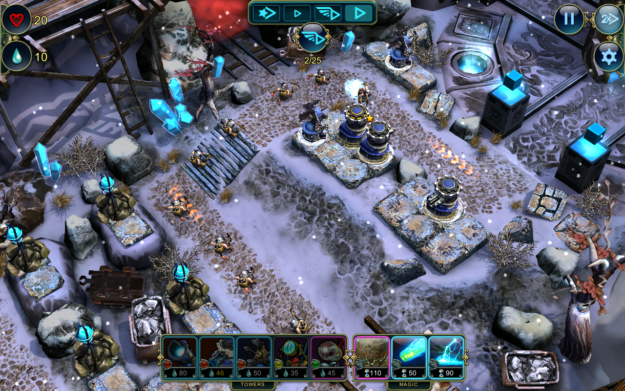 Defenders: TD Origins screenshot #14