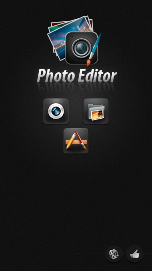 Editor de fotos para Android - screenshot