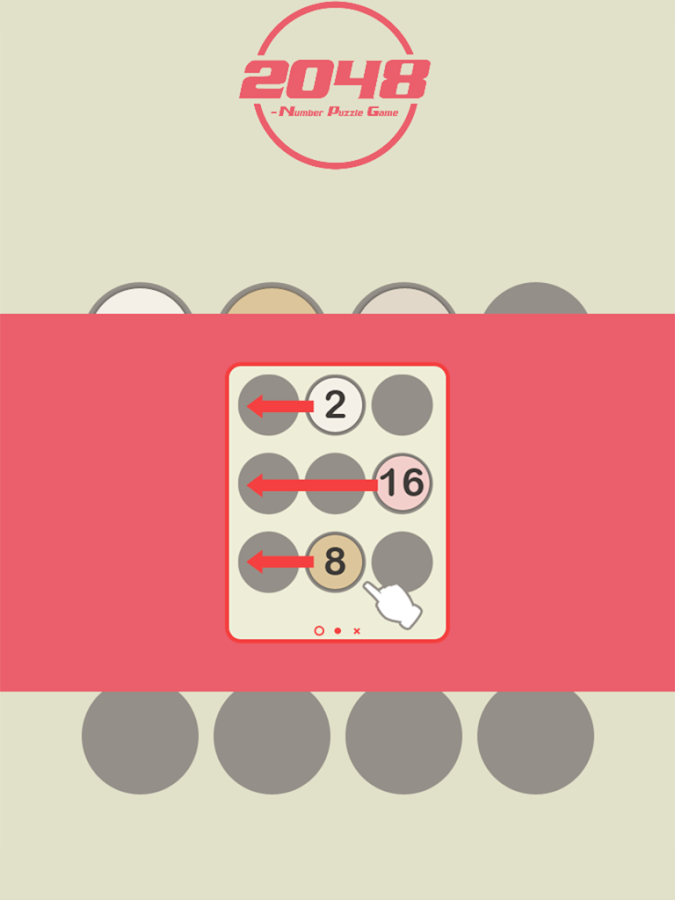 2048 - Number Puzzle Game- screenshot