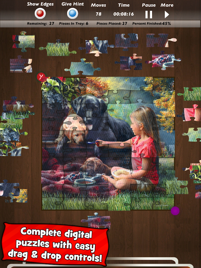 Jigsaw Puzzles by MasterPieces - screenshot