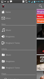 Virgin Mobile Music+- screenshot thumbnail
