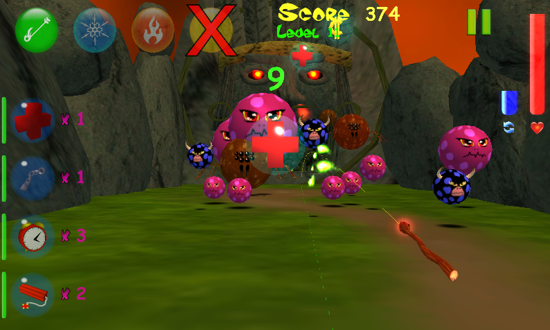 Monster Bubbles Curse (Pang) screenshot #10
