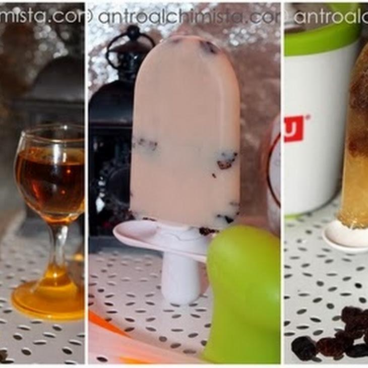 Chocolate Liqueur Ice Pops