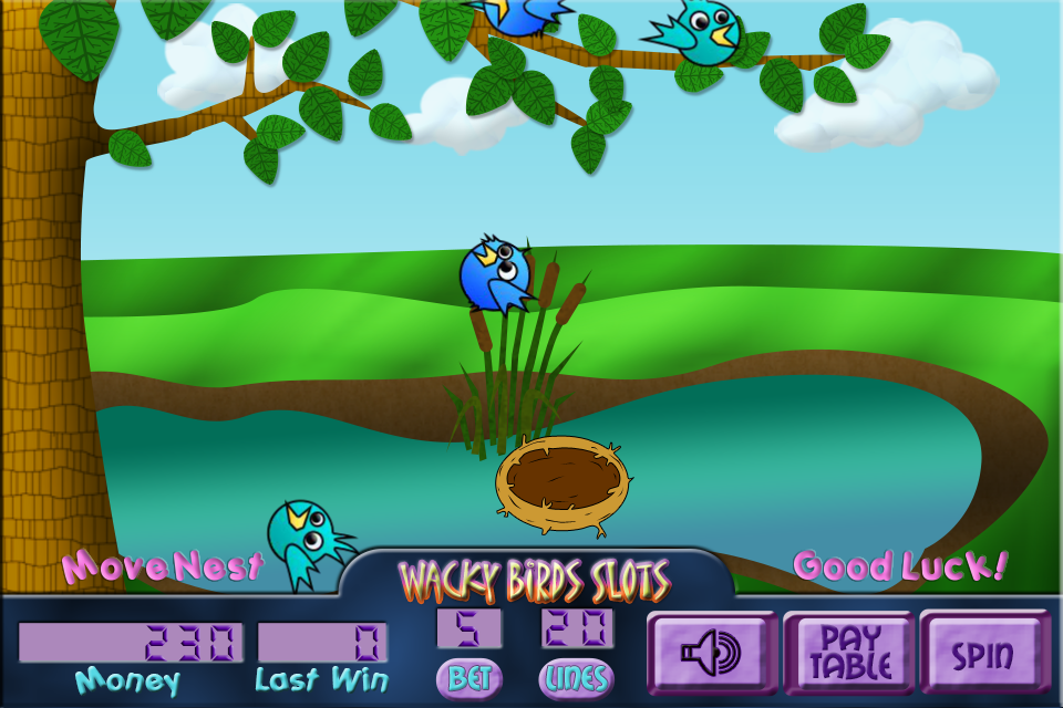 Wacky Birds Slots- screenshot
