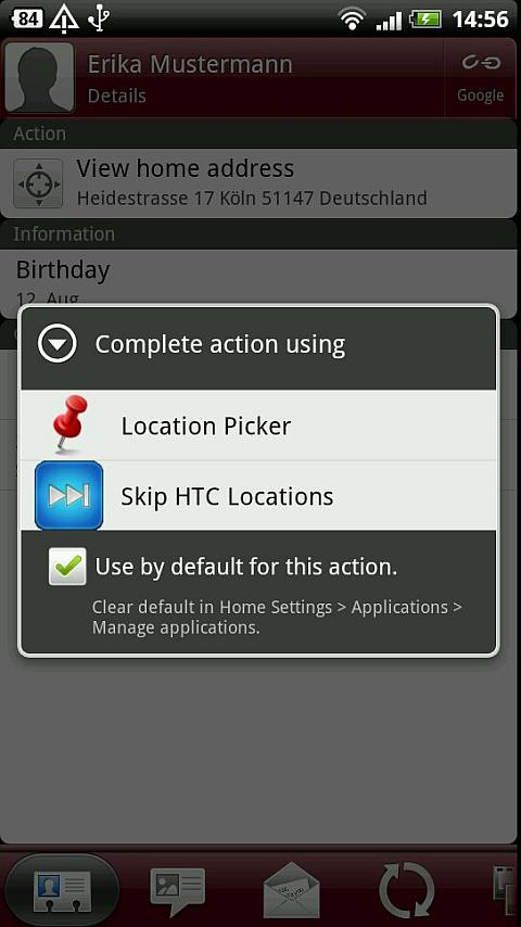 Skip HTC Locations - screenshot