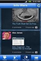 Screenshot of Info Wars