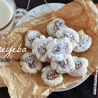 Ghoreyeba {Arabic Butter Cookies}