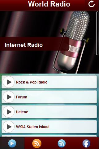 World Radio - Music Player- screenshot