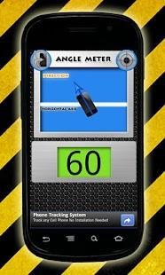 Angle Meter: miniatura de captura de pantalla