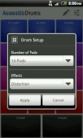 Screenshot of Acoustic Drums Free
