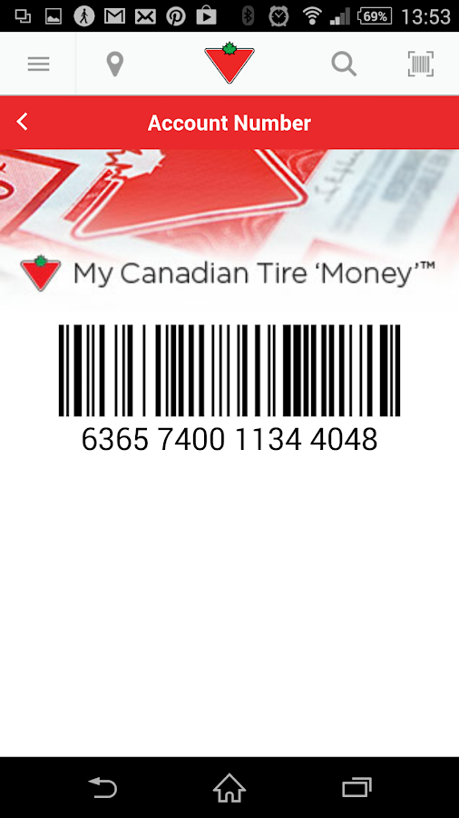 Canadian Tire - screenshot