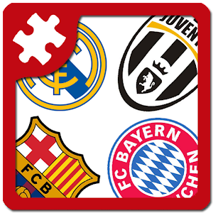 Football: logo puzzle quiz for PC and MAC
