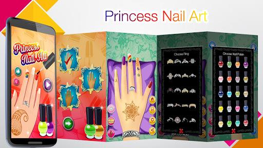 Princess Salon: Nail Makeover