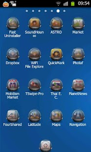 GlassBall Theme Go Launcher EX - screenshot thumbnail