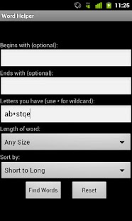 Word Helper Free - screenshot thumbnail