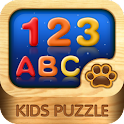Kids Puzzle:ABC logo