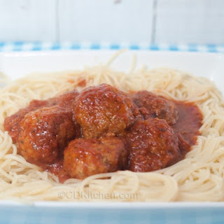 Authentic Italian Meatballs.