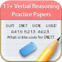 11+ Verbal Reasoning Papers LE icon