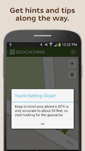 Geocaching Intro - screenshot thumbnail