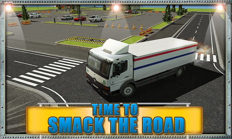 Road Truck Parking Madness 3D- screenshot