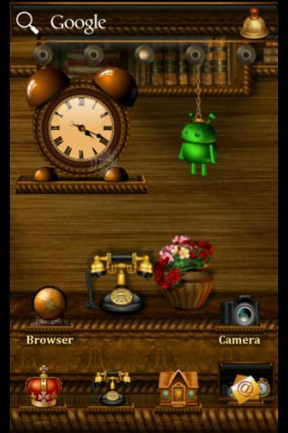 ADWTheme Android Shelves
