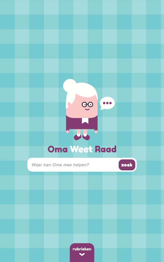 OmaWeetRaad: screenshot