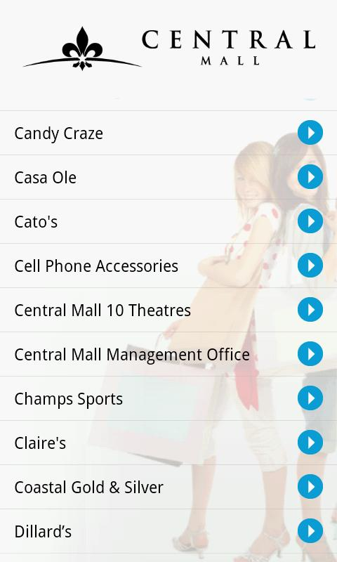Central Mall Port Arthur Texas - screenshot
