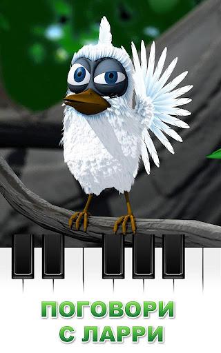 Игра Говорящая птица Ларри для планшетов на Android
