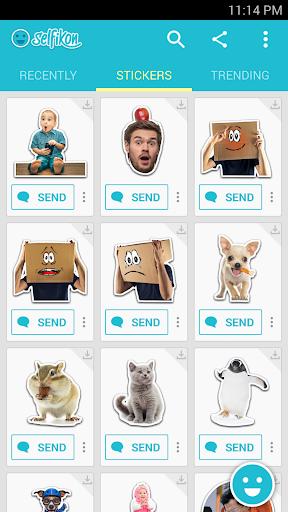 SelfiKon - free emoji sticker