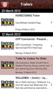 Charleston International Film - screenshot thumbnail