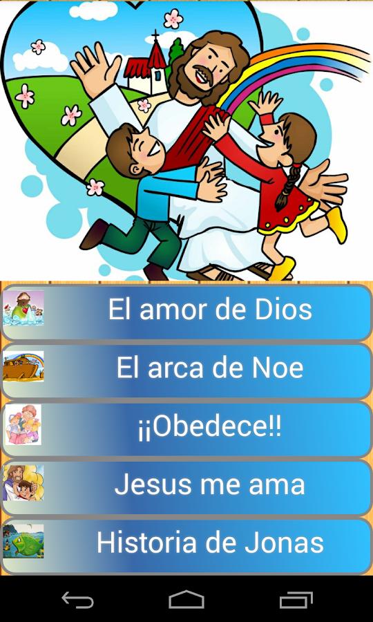 Musica cristiana de niños- screenshot