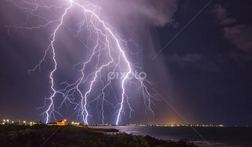 Super Storm Strikes Australia Weather Landscapes Pixoto