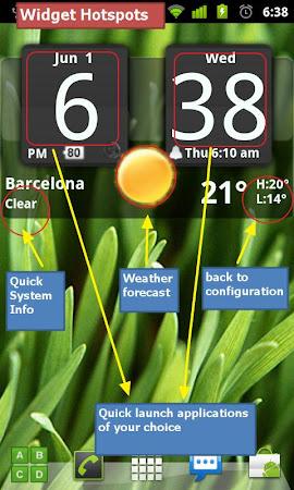 FlipClock BlackOut Widget 4x2 4.5.0 screenshot 201241