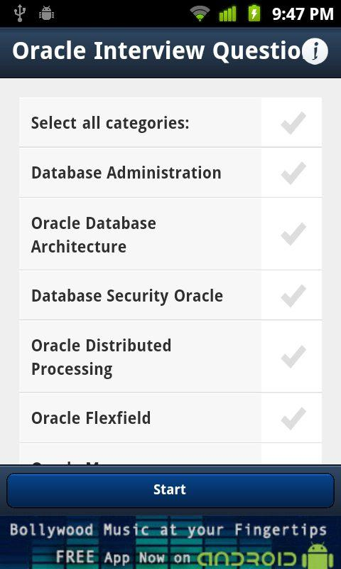 Oracle Interview Questions - screenshot