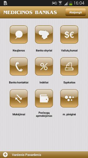 Medicinos banko mobilus bankas
