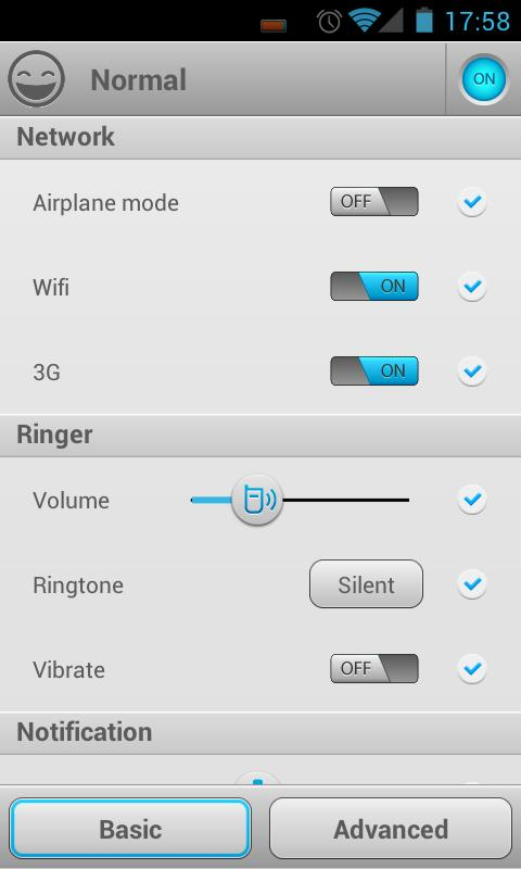 Smart Settings - screenshot