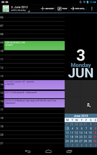 aCalendar+ Calendar & Tasks - screenshot thumbnail