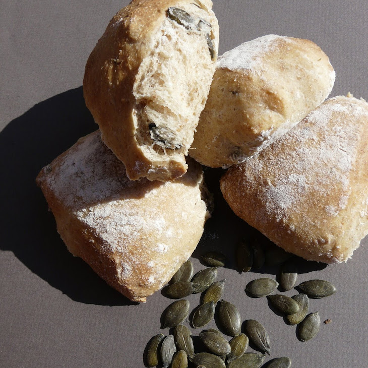 Pumpkin Seeds Buns Recipe