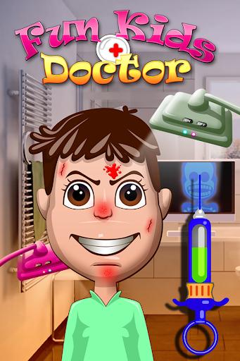 真棒有趣的兒童嬰兒醫生