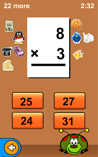 Bugaboo Math Flash Cards - screenshot thumbnail